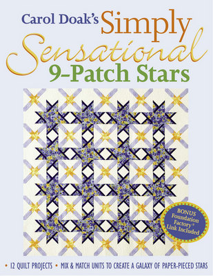 Carol Doak's Simply Sensational 9-Patch