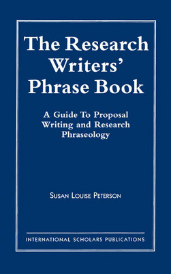 The Research Writer's Phrase Book