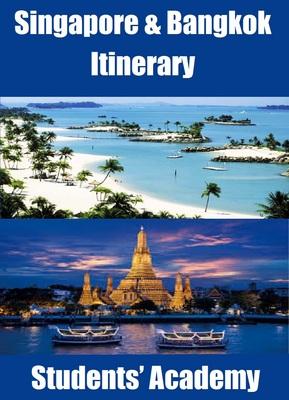 Singapore and Bangkok Itinerary